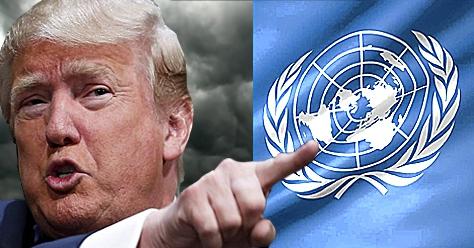 Donald Trump tooko aim at Venezuela at the recent UN General Assembly (Archives)
