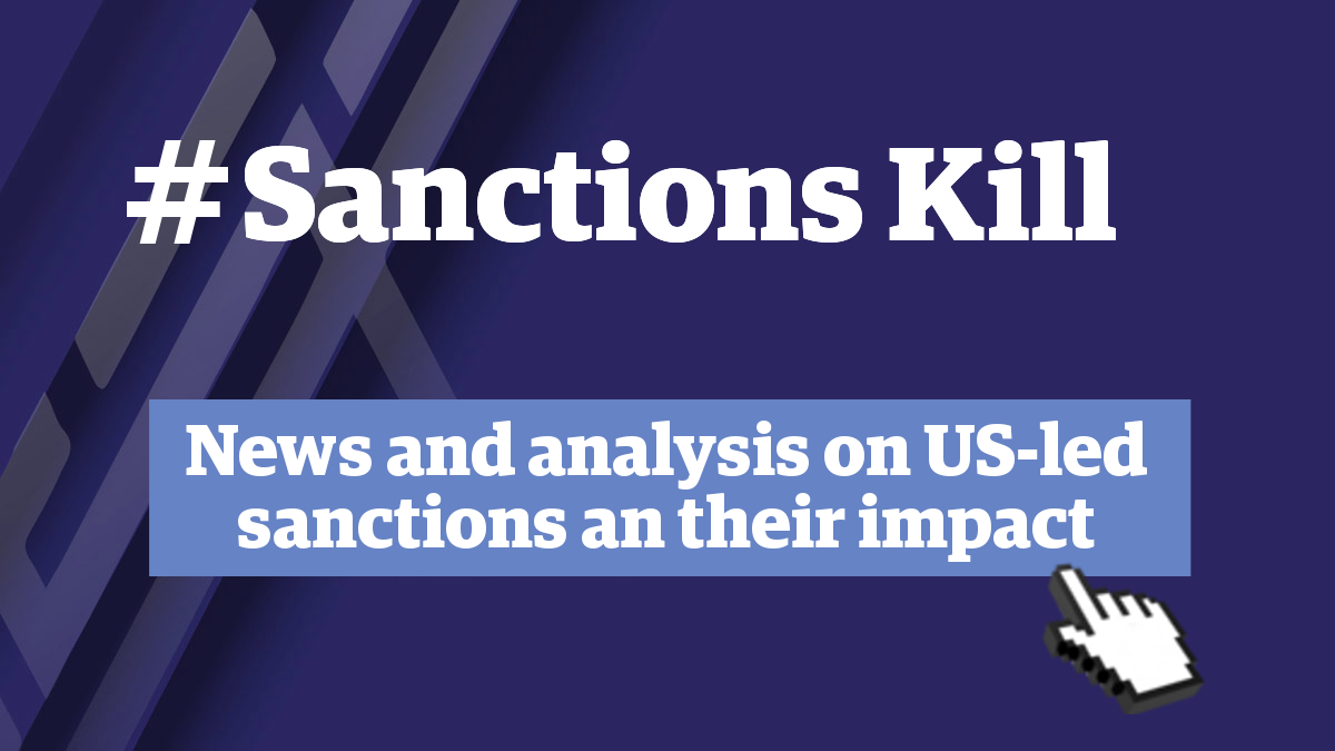 A quick guide to understand US sanctions against Venezuela and their impact. (Venezuelanalysis)