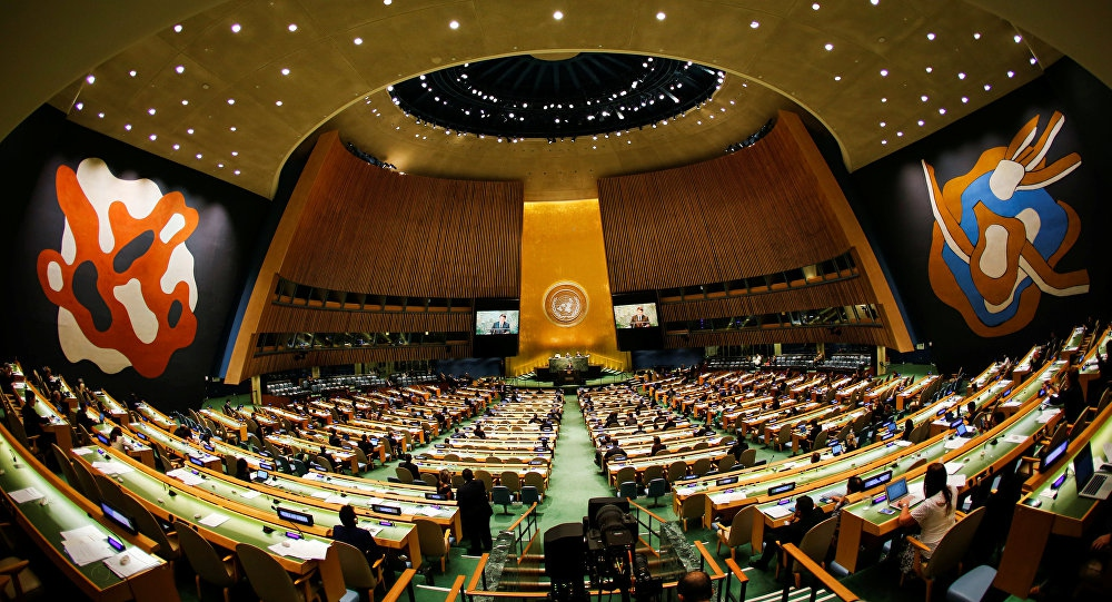 UN General Assembly, New York. (Sputnik)