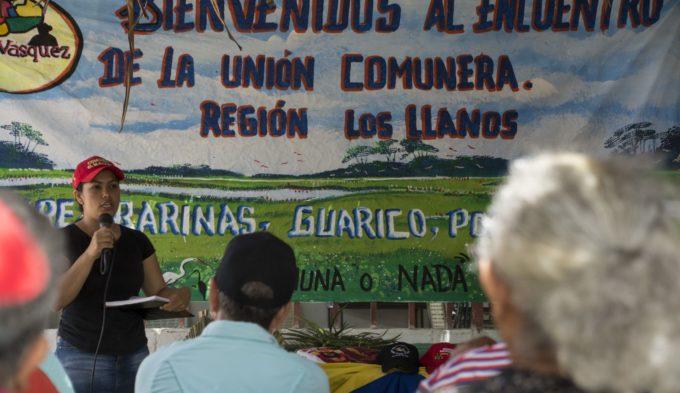 Meeting of the Unión Comunera in Apure, Venezuela, 2020. (Unión Comunera)