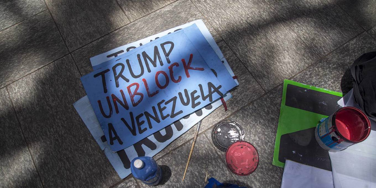 Trump Unblock Venezuela (Rafael Briceño Sierralta / NurPhoto)