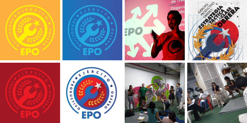 Utopix worked with the Productive Workers Army (EPO) to create its visual identity. (César Mosquera, Utopix and EPO)