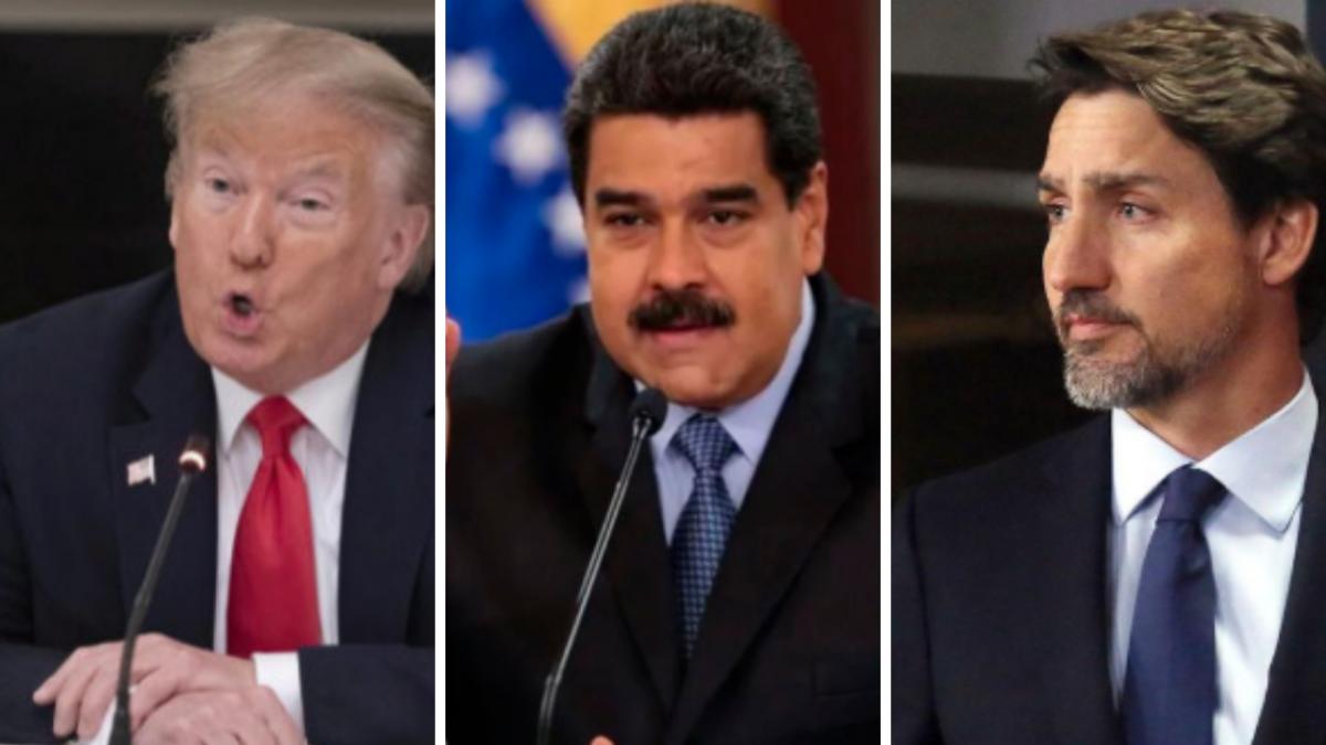 President Trump, President Maduro, President Truddeau (Venezuelanalysis)