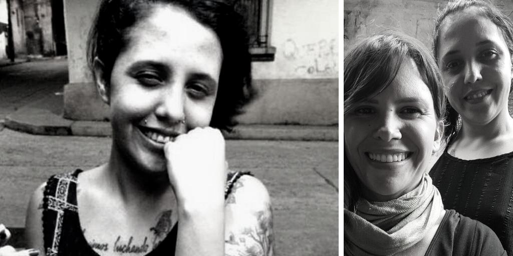 Left: Vannesa Rosales. Right: Venus Faddoul with Vannesa Rosales. (Archive)