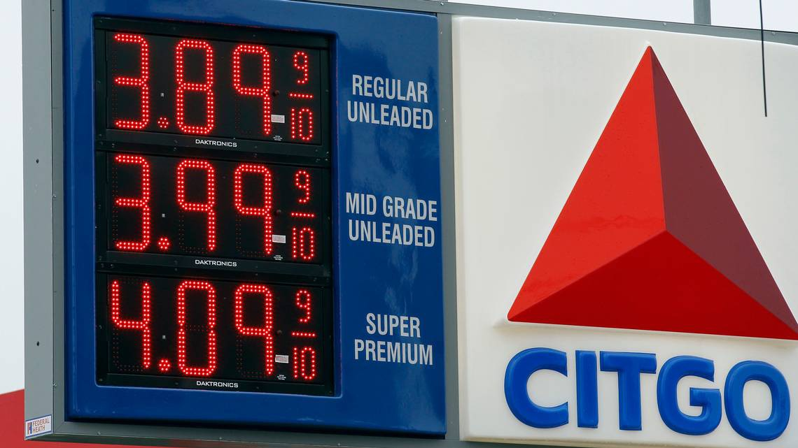 CITGO is a US subsidiary of Venezuela's state run oil firm, PDVSA (Alex Brandon / AP)
