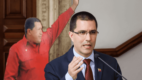 Venezuela's Foreign Minister Jorge Arreaza. (EFE)