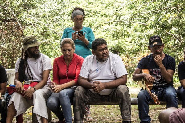 Targeted killings and violent evictions are some of the issues that continue unabated in the Venezuelan countryside. (@Lucha_Campesina)