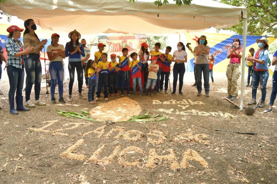 Members of El Maizal Commune celebrating their 12 year anniversary. (El Maizal)