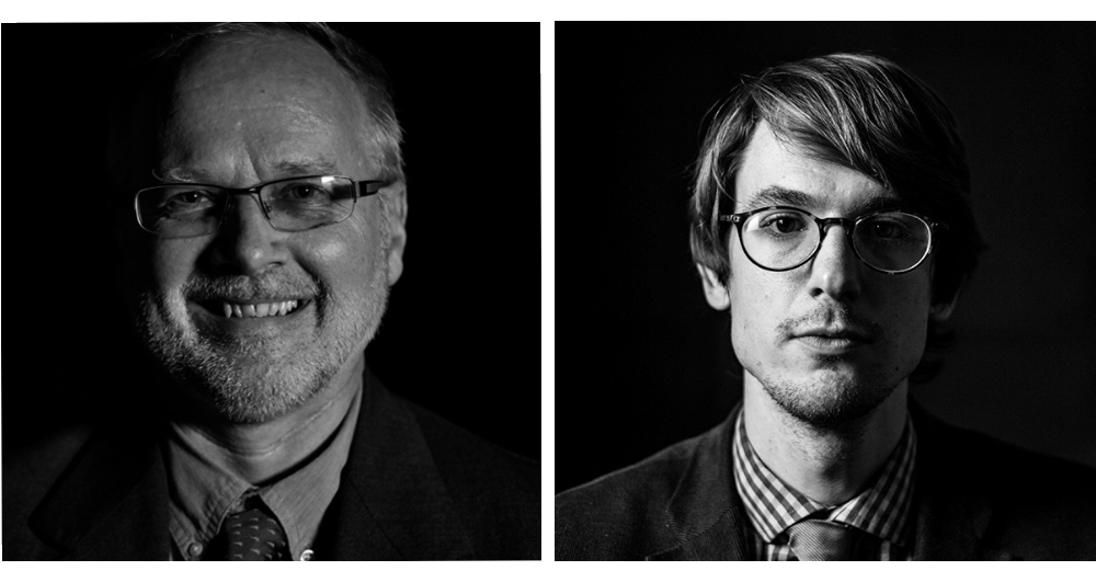 WOLA's David Smilde (left) and Geoff Ramsey (right)
