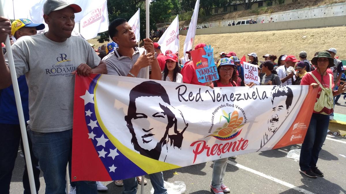 Food workers also marched. (Katrina Kozarek)