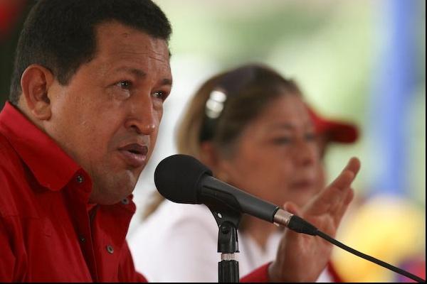 Venezuela's President Hugo Chavez (Juan Carlos Solórzano/PP)
