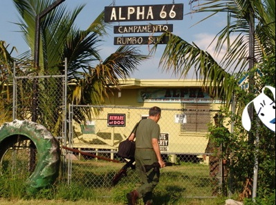 The Alpha 66 training camp in Florida.