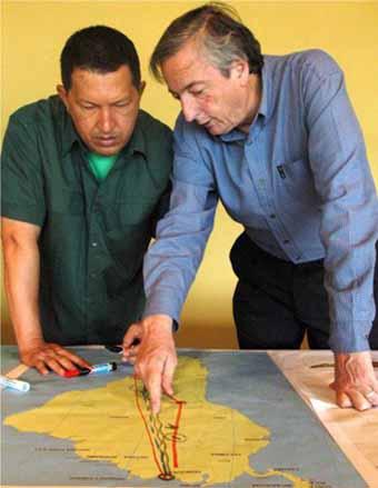 Chavez and Kirchner Plan Pipeline Through Amazon