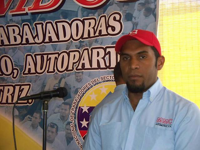 Felix Martinez, general secretary of the New Generation Union. (Aporrea)