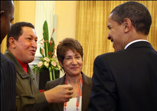 President Chavez of Venezuela told Barack Obama he is appointing a new ambassador to the US in order to relaunch relations between the two countries