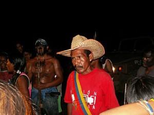 Yukpa chief Sabino Romero (Aporrea)