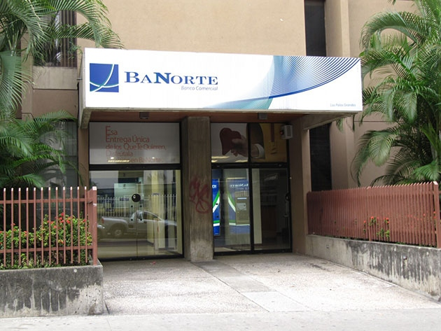 BaNorte, the most recent bank to come under national investigation (YVKE)