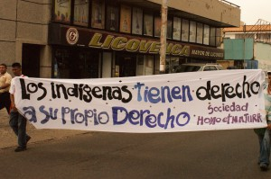 """The indigenous people have the right to their own law"""" (Kaosenlared)"""