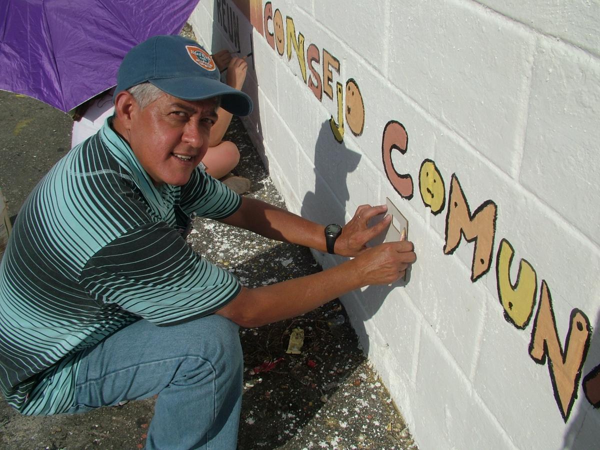 Jose Castro, community council spokesperson (Tamara Pearson)