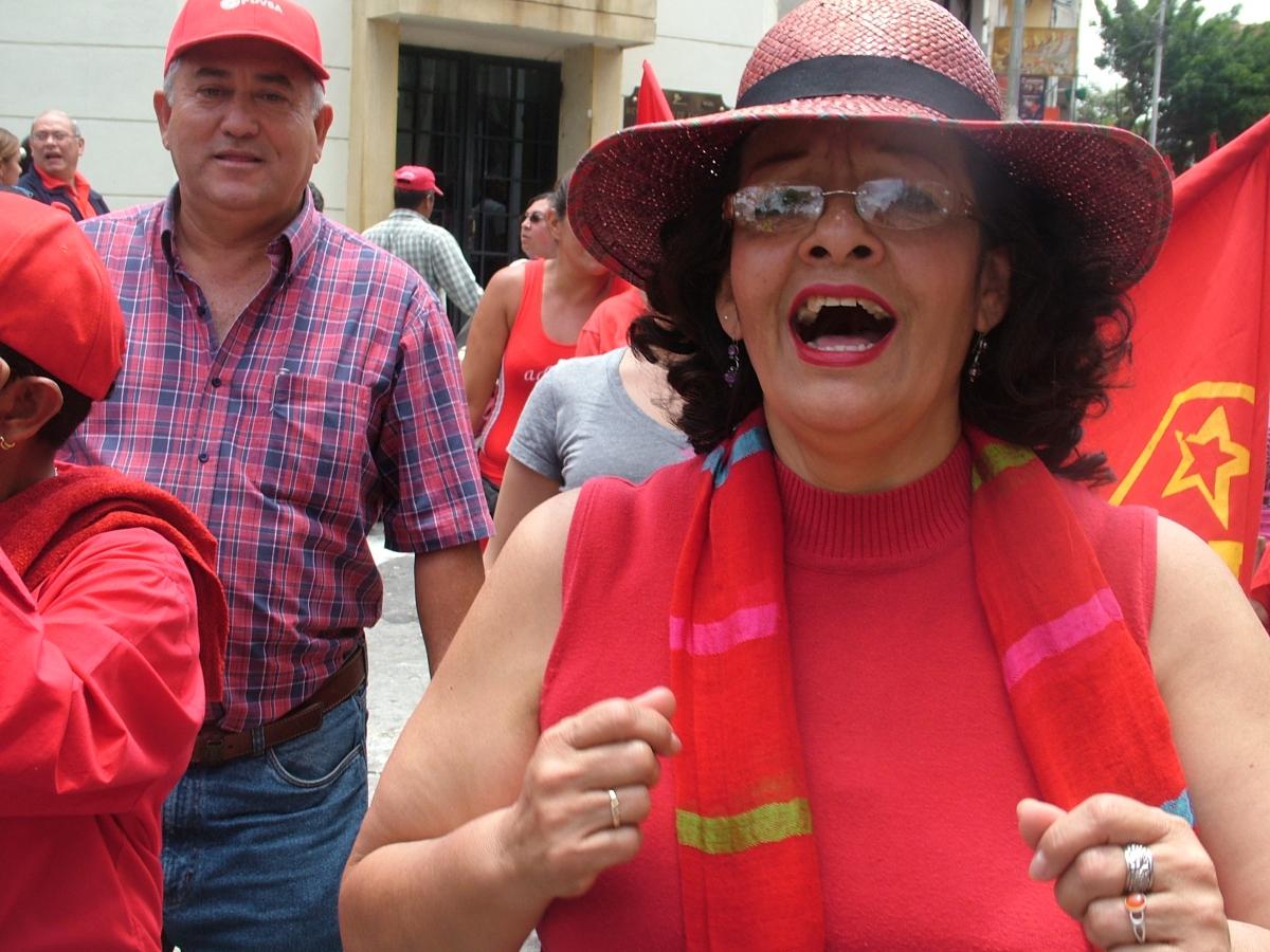 Marta Zerpa, substitute legislator in the Merida legislative assembly (Tamara Pearson)