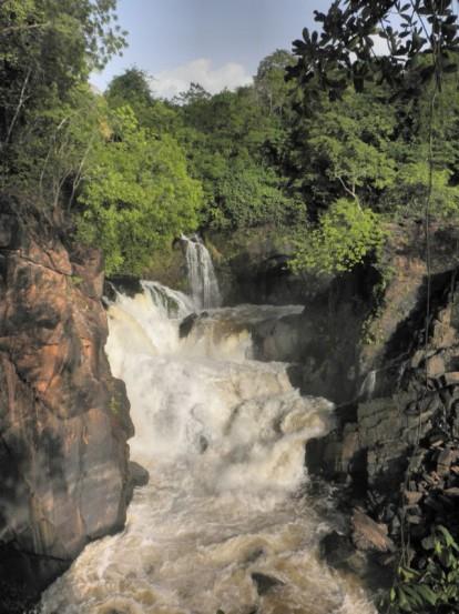 Waterfall near Puerto Ordaz