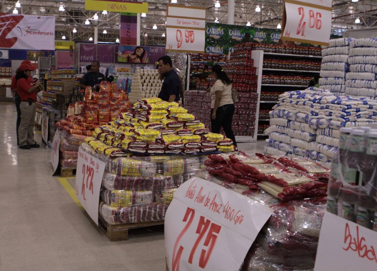 A state-run Abastos Bicentenario market (Prensa Presidencial)