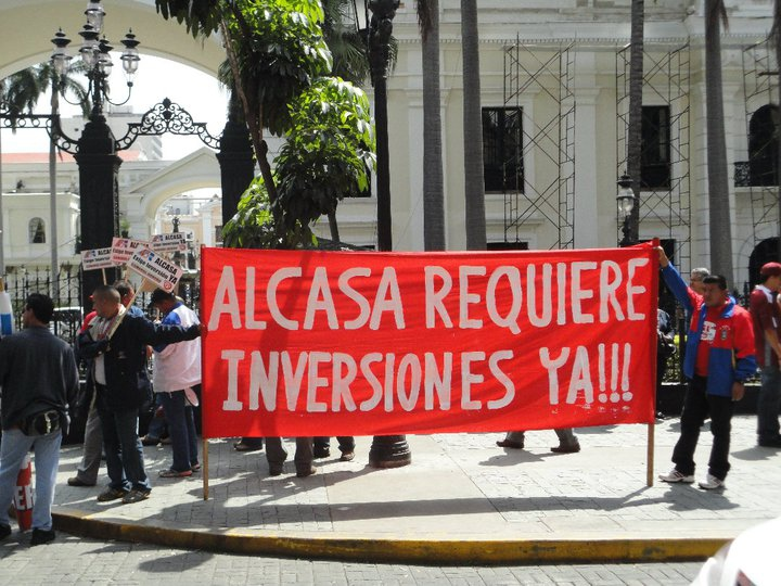 """""""Alcasa needs investments now!"""""""