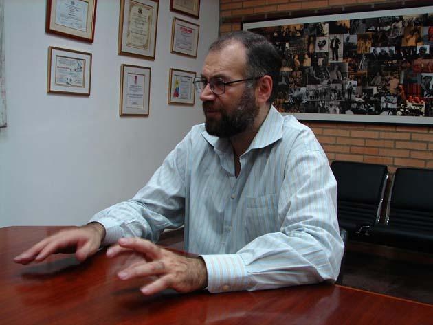 Former Trade Minister Eduardo Saman