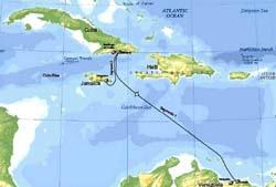 The fibre optic route (Granma)