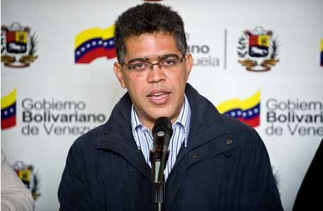 Venezuelan Vice President Elías Jaua (archive)