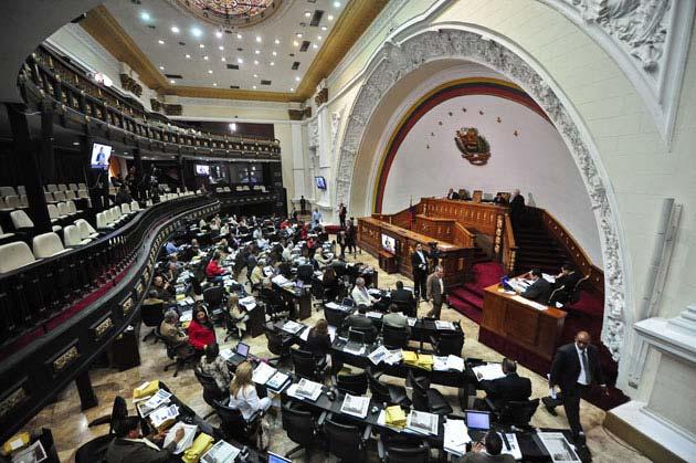 Venezuela's legislature, the National Assembly (AFP/Miguel Gutierrez)