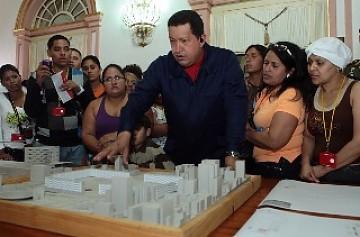 President Hugo Chavez has made housing a top priority for 2011 (YVKE Mundial)