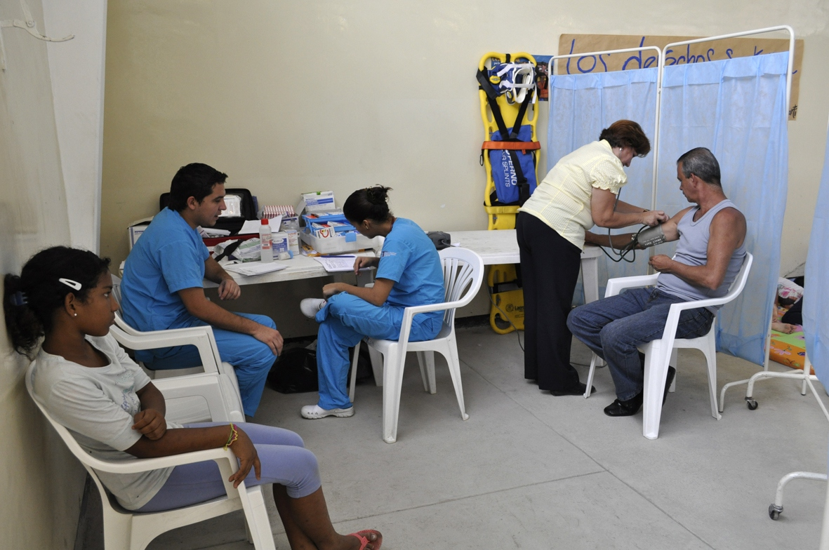 One of Venezuela's thousands of free public health clinics (YVKE)