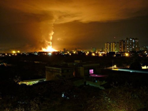 Venezuela's main ammunitions deposit, CAVIM, suffered a massive explosion on 30 January 2011 (Agencies).