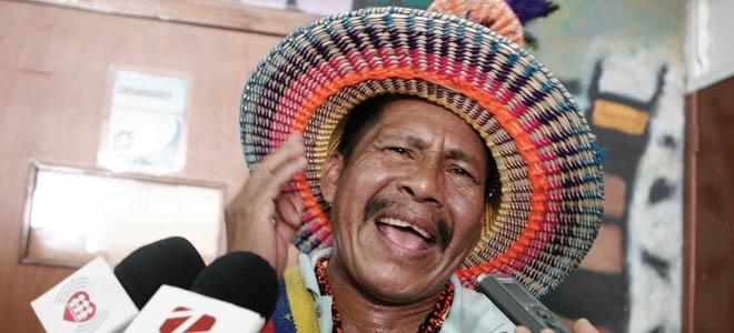 Indigenous Yukpa leader Sabino Romero (Archive)