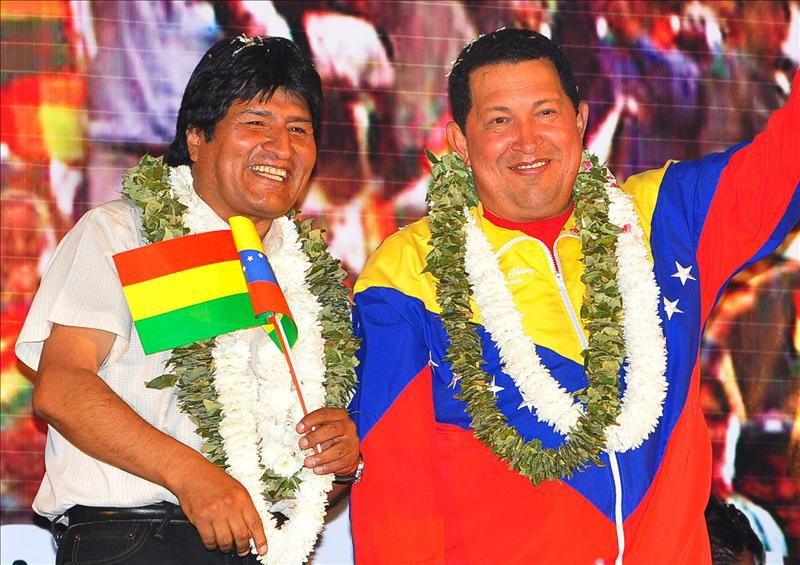 Our Goal is Achieving South American Unity, says Chavez from Bolivia    Venezuelanalysis.com