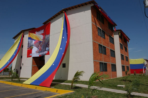 Venezuelan President Hugo Chavez is expected to launch the Grand Venezuelan Housing Mission on 12 April 2012 (Archive).