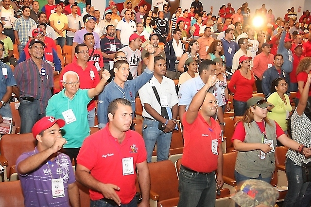 First National Meeting of Workers for Workers' Control (Prensa Sidor).