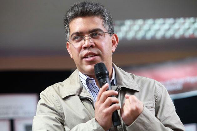 Venezuela's Vice-President Elias Jaua (AVN/ Verónica Canino)
