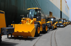 Construction equipment purchased from China arrives at Venezuela's Puerto Cabello (Agencies).