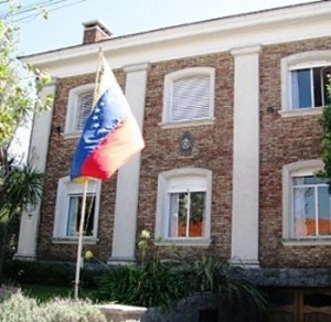 The residence of the Venezuelan ambassador in Libya looted by armed men on 24 August 2011 (Agencies).