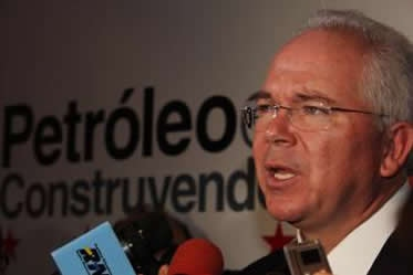 Rafael Ramirez, President of Venezuelan state oil company PDVSA, confirmed that the government was not in direct negotiations with Exxonmobil (venezuela-us.org)