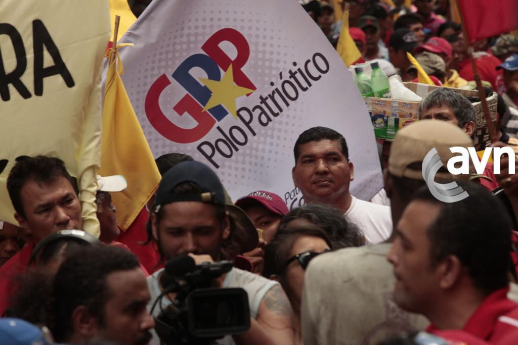 "Venezuela social movements marched to support Chavez's ""Patriotic Pole"" (AVN)"