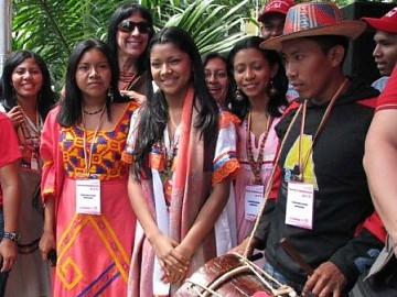Indigenous spokespeople, Venezuela (archive)