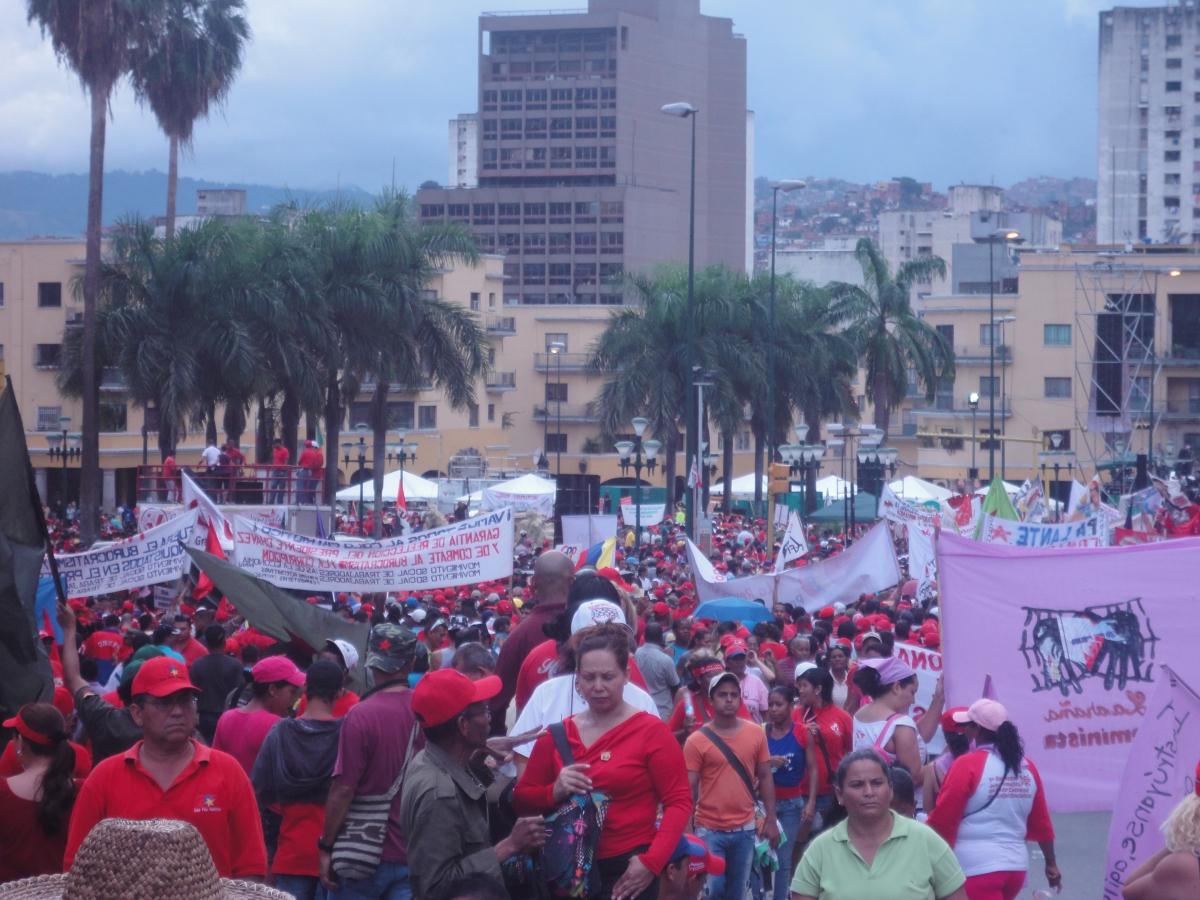 According to Venezuelan news sources, over 30,000 organisations participated in the march (Rachael Boothroyd/Venezuelanalysis)