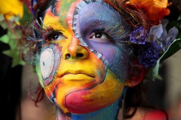 World Body Art Festival In Caracas Venezuela Venezuelanalysis Com