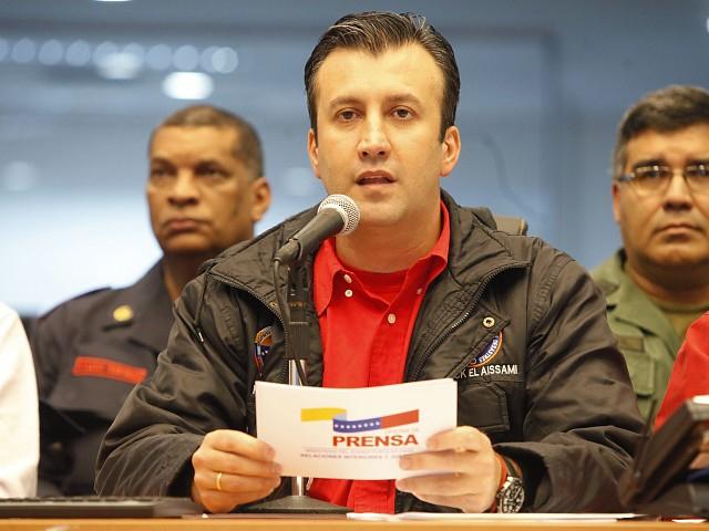 Venezuelan Minister of Justice and Interior Relations Tareck El Aissami