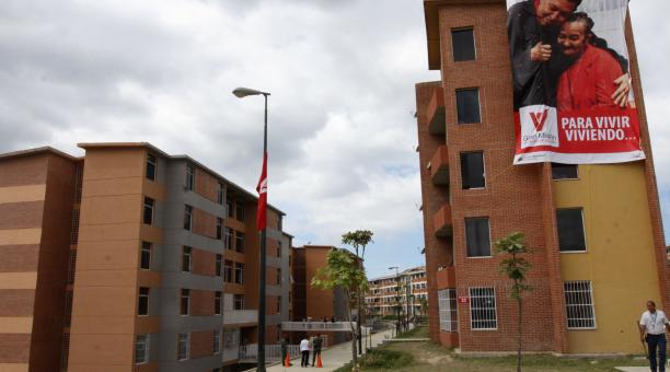 A new housing complex in Barinas State (AVN)