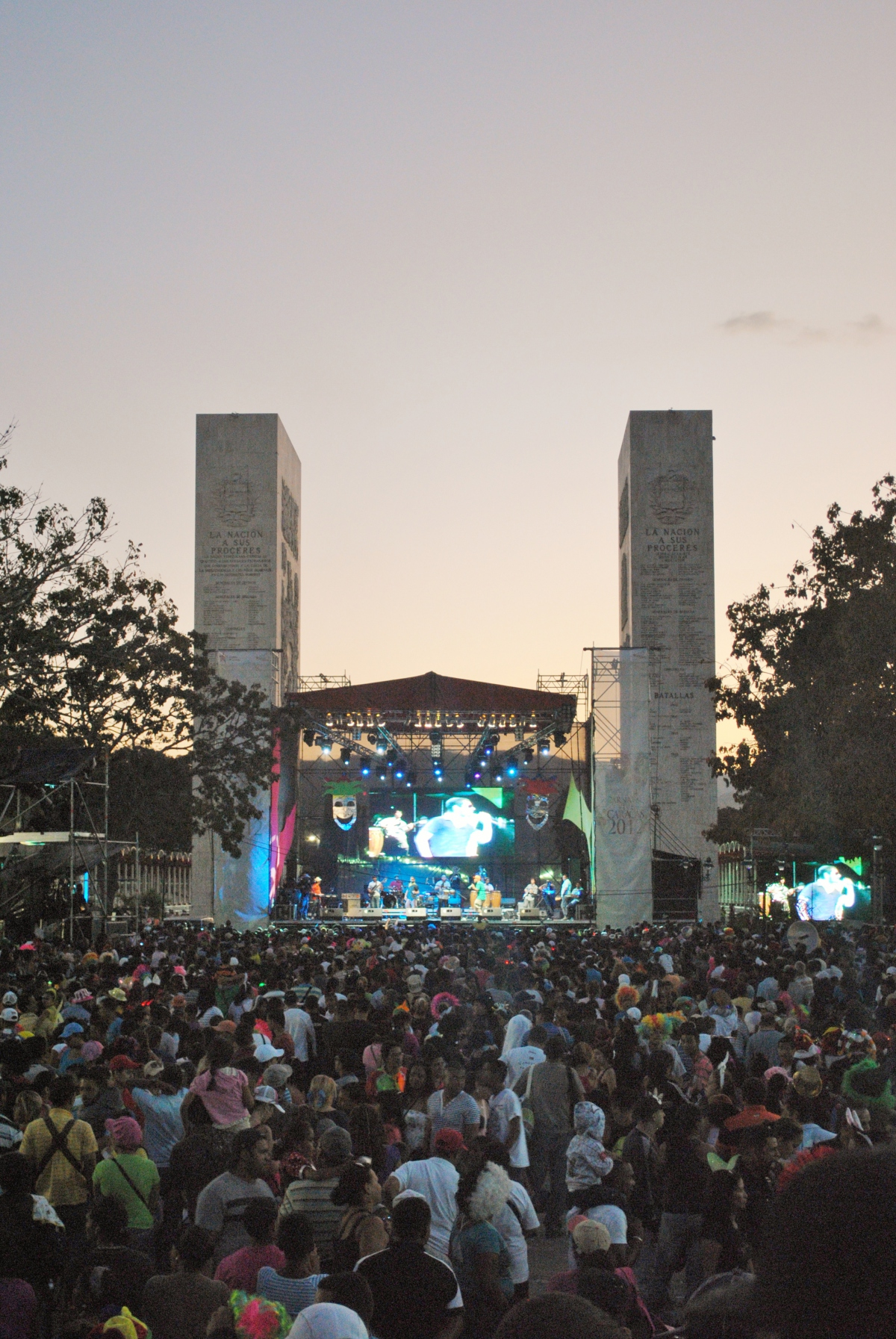 The government put on a free concert for people in the evening (Rachael Boothroyd - Venezuelanalysis)