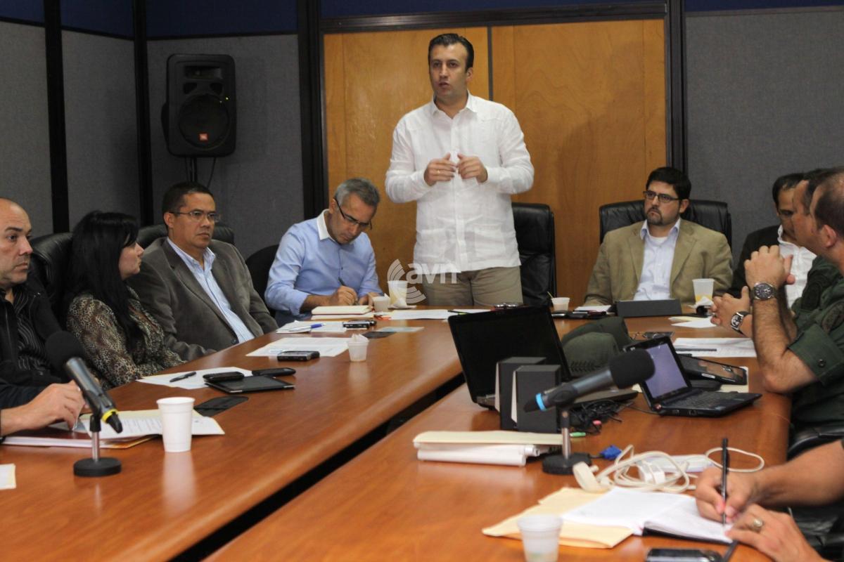 Venezuela's Interior and Justice Minister Tareck El Aissami (AVN)